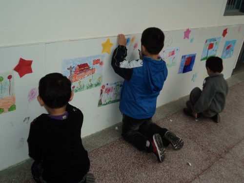 """上派镇幼儿园开展""""我爱祖国""""主题教育活动"""